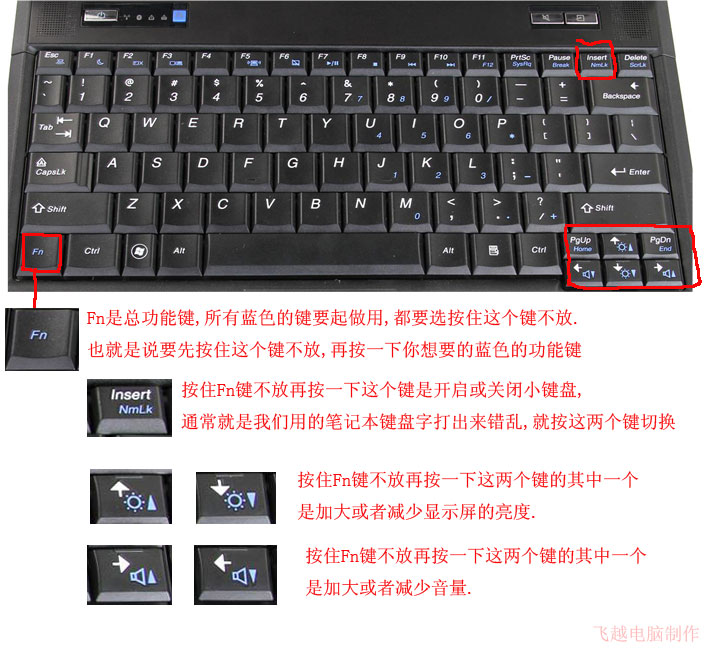 电脑键盘按键错乱